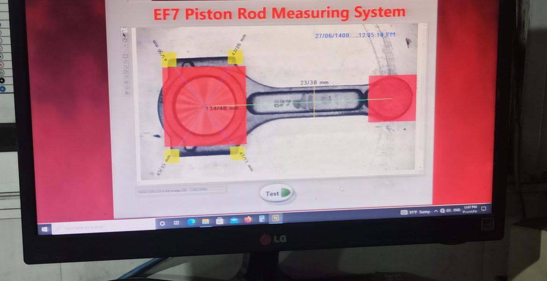 اندازه گیری دقیق شاتون EF7  به روش Image Processing